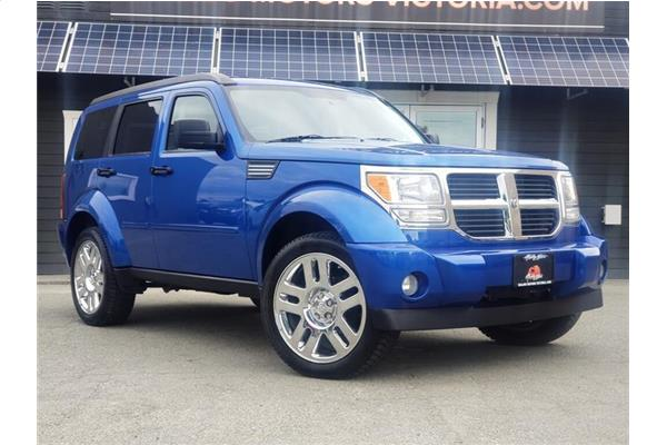 2008 Dodge Nitro SLT - SUNROOF - ELECTRIC BLUE PEARL - 4x4